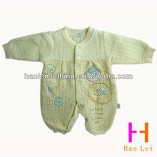 Morbido bambino manica lunga pagliaccetto abbigliamento per l'inverno