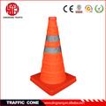 de seguridad plegable cono del tráfico barrera temporal
