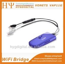 VONETS USB Small WiFi Bridge VAP11G for Openvox STB