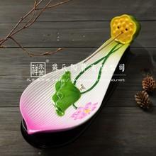 Yong feng xiang 2014 new design ceramic lotus petal shaped home supplies incense burner/Incense Holder(SY710)