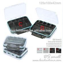 125mm x 100mm x 42mm wholesale small plastic fly box