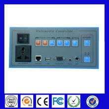 Multimedia video wall server,pc video wall server,1920*1200,HDMI,DVI,VGA,AV,YPBPR,Network IP control