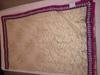 Cream Net Indian Designer Saree Images at wholesale price