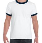Single jersey t shirt,tubular style printing ringer t shirts,cheap o-neck tee shirts