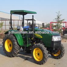 40-55hp 2-wd e 4-wd fazenda jardim mini tractores com carregador frontal