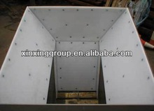 customized anti-impact uhmwpe liner for silo/chute/bunker