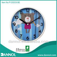 "12"" children wall clocks cartoon picture frames design"