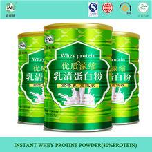 Mejor calidad de proteína de suero de leche