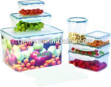14pcs airtight water proof locked food storage GL5014C