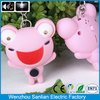 innovations artificial decorative frog lucky charm keychain