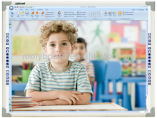 """Cheapest China Smart Class Interactive Whiteboard 83"""" With OEM service for classroom"""