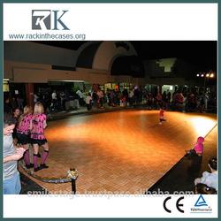 interlock used dance floor wedding/party /car show fashionable