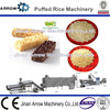 Automatic Crispy Ball Cereal Extruded Puffed Rice Snack Machine