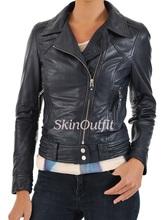 ladies bikerleather jacket for woman
