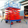 hydraulic motorcycle scissor lifting table/skylift