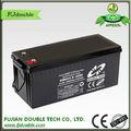 buena calidad de panel solar batería de 12v 200ah de ciclo profundo vrla batería agm