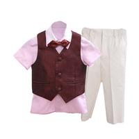 Boy 3 pieces pant shirt waistcoat