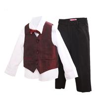 Boy 4 pieces pant shirt vest