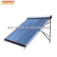 Vacuum tube best efficiency pool solar collector