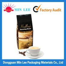 Custom logo plastic packaging coffee bags