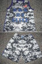 camo basketball jesrey custom basketball uniform