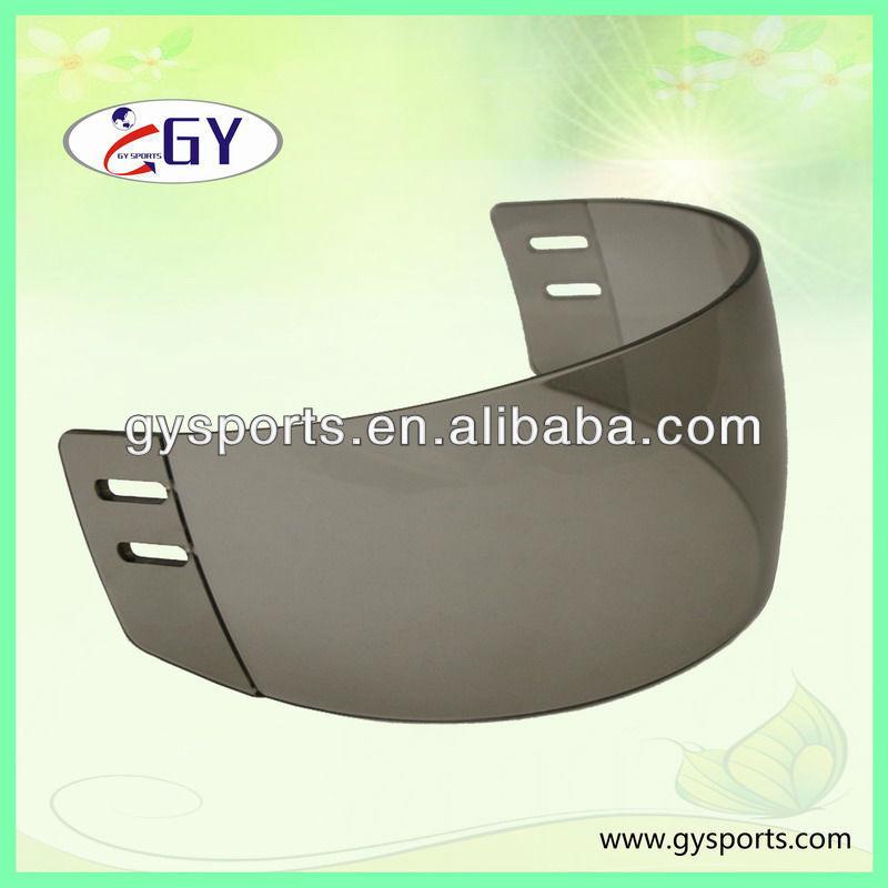 PC Clear Ice Hockey Visor ,ski helmet with visor, visor with Double Coatings Protection helmet visor 100 series