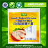 100% biodegradable pe plastic bag for chicken wing vacuum food bags designer plastic bag