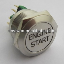 ELEWIND 22mm 1NO1NC Momentary push button With ENGINE START symbol(PM221F-11/S With ENGINE START symbol)