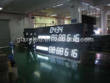 2014 hot sale white color led Electronic scoreboard
