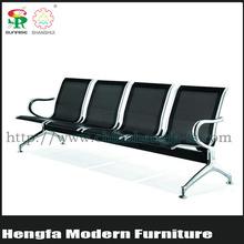 SUNRISE government public area metal chair cheap seat set
