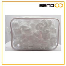 Clear cosmetic bag Zippered PVC Cosmetic Bags with Handle