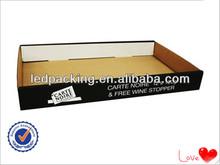 2014 Hot Sales Black Corrugated Carton Box,Corrugated Tray