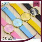 Colorful Dot Japanese wrist watch women discount watch sets