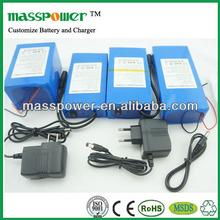 Powerful 36v 30ah battery lifepo4