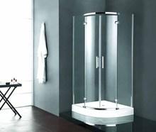 semiarc shape chrome finishing shower rooms JK169A