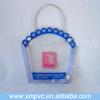 Eco-friendly small pvc mesh cosmetic bag XYL-D-C474