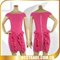 2014 caliente venta del cuello del barco rojo del vendaje de animadoras sexy vestidos