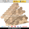 2014 new arrival champagne irregular tiles in China