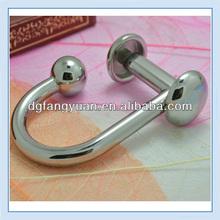 metal harness aluminum snap buckle hooks