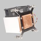 2U cpu cooler heatsink made of aluminium