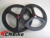 Super light weight carbon road wheel,3 spoke wheel tubular,Depth 70mm