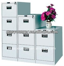 Stainless steel 2/3/4 drawer 100% open office shine decorative file/filing cabinet furniture,best display office product