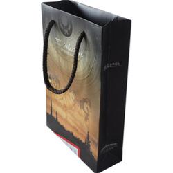 wine paper gift bag/fashionable paper wine bag/free sample paper bag