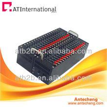 32 port gsm gprs modem rs232/usb--600 sms/ hour every port