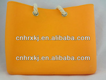 silicone big shopping tote bag beach handbag silicone candy bag china manufacturer