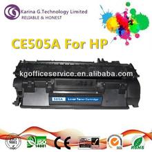 Laser jet CE505A toner cartridge for Canon LBP6300dn/LBP6650dn/MF5870dn
