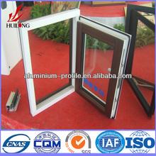 double hung type design fabrication of aluminum windows and doors
