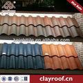 estilo diferente de terracota sintético teja español