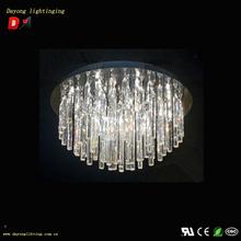 led crystal pendant lights DY3337-12 2012 Five Star led crystal pendant light