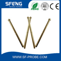 BeCu Spring Loaded Stainless Steel PCB Test Socket Series Music Wire Testing Probe
